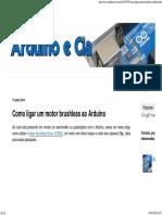Arduino e Cia_ Como Ligar Um Motor Brushless Ao Arduino