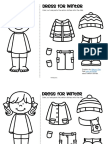 Winter Clothes Dress Boy and Girl Free