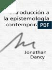 Dancy, Jonathan - Introducción a la epistemología.pdf