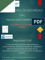 Present Ac i on Plan Maestro Seguridad Vial