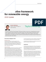 UK Renewable Energy Update2015