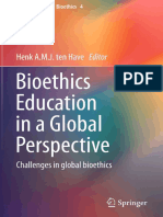 [Advancing Global Bioethics 4] Henk a.M.J. Ten Have (Eds.) - Bioethics Education in a Global Perspective_ Challenges in Global Bioethics (2015, Springer Netherlands)