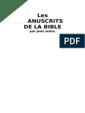 règles bibliques datant