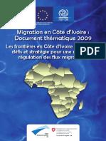 Regulation Flux Migratoires Cote Ivoire 2009