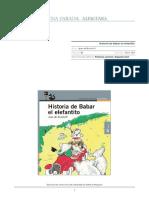 HISTORIA DE BABAR EL ELEFANTITO - Jean de Brunhoff.pdf