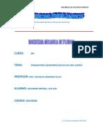 Trabajo n1-Delimitacion de Una Cuenca Hidrografica y Caculo de Sus Parametros Geomorfologicos