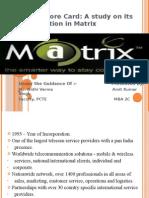 matrix cellular