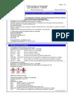 MSDS 09 - Cemento Vulcanizante Para Llanta Vipal