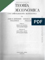 Teoría Microeconómica - James M. Henderson & Richard E. Quandt