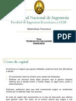 19 MF Tecnicas de Evaluacion Financiera - Copia