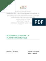 Informe Sobre Plataforma Moodle