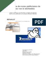 Traduction Des Textes Publicitaires