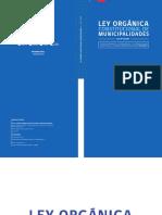 Ley Nº 18695 Orgánica Constitucional Municipalidades de Chile
