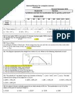 B. Computerfirst Exam 103