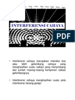 BAB4-INTERFERENSI-CAHAYA
