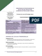 Prontuario Psicología Laboral
