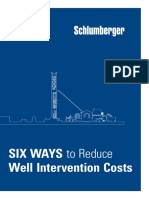 Six Ways to Reduce Well Intervention Costs