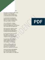 Antología de poemas variados