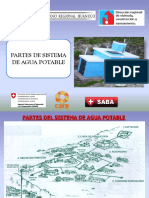 Partes Del Sistema de Agua Potable y Letrinas