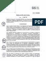Memoria Anual SIS 2015 - RJ 079-2016-SIS