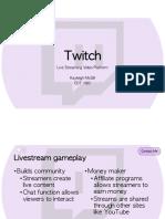 twitch presentation pdf