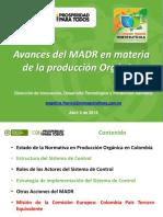 6Avances del MADR en materia de la producción Orgánica.pdf