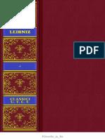 Gottfried Wilhelm Leibniz - Scritti Politici e Di Diritto Naturale (UTET, 1951)