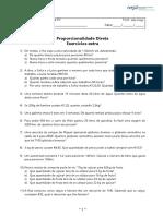 FT - MVB3 - 10 - B7 - Proporcionalidade direta - ex extra