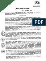 RJ 191-2011-SIS - Manual Clasificador de Cargos Del SIS