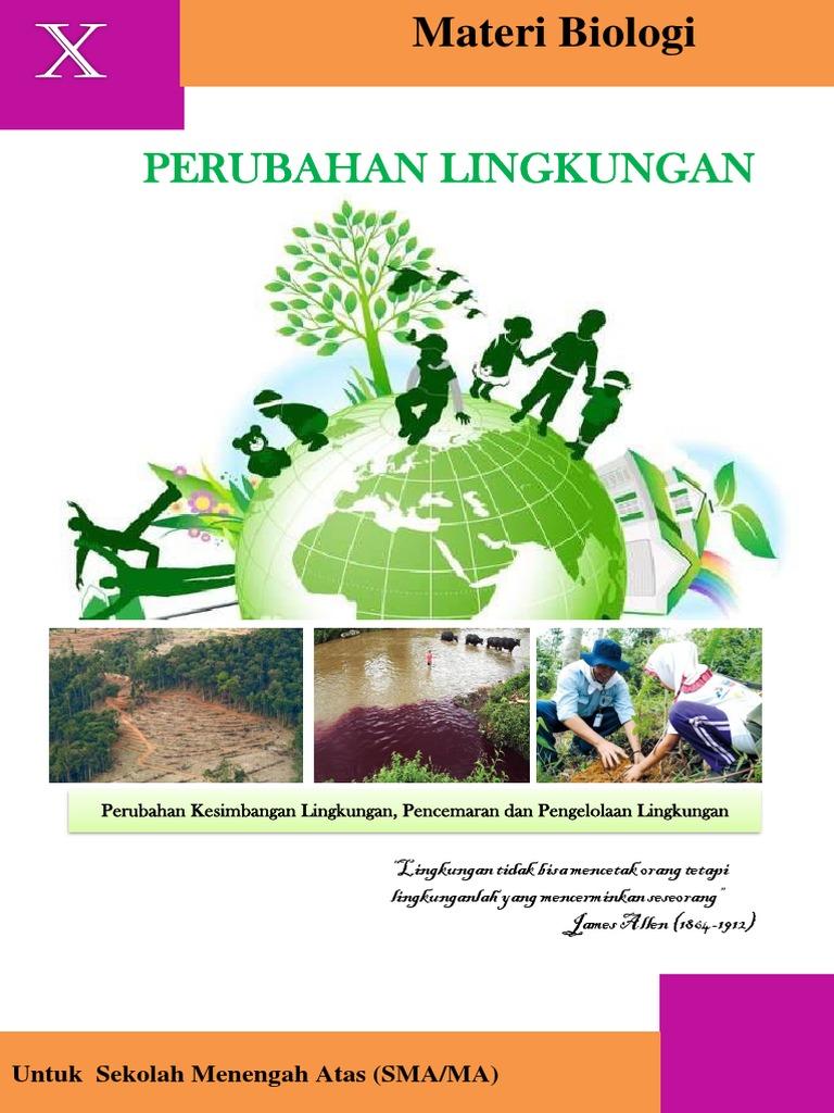 Lampiran 6 Materi Perubahan Lingkungan