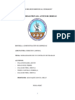 Los Contratos Sujetos a Modalidad Peru