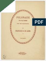 Polonaise b Flat Minor