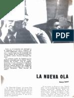 La Nueva Ola George Sadoul Revista Cine Cubano N. 1