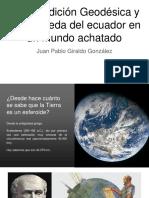 Unidad 3 Expedición Geodésica - Juan Pablo Giraldo