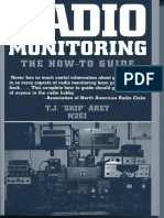 Radio Monitoring, A How to Guide, Paladin Press
