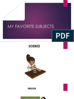 My Favorite Subjects