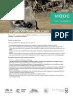 MOOC Sobre Basura Marina 2018 Brochure