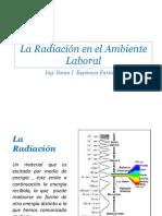8- La Radiacion en El Ambiente Laboral
