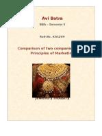 Comparison - Jewellery Companies