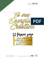 Tu Eres Energia Creativa Por Analublack