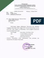 Undangan Wawancara Seleksi Calon Anggota KPU Sulbar 2018-2023