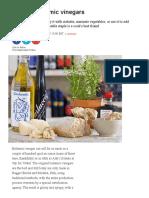 10 Best Balsamic Vinegars IndependentUK