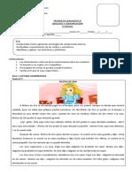 Prueba Diagnostico Terceros Basicos Lenguaje