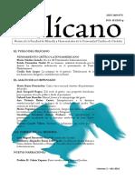 Presentación dossier Pensamiento crítico latinoamericano