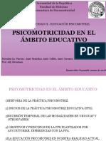 TEÓRICO Psicomotricidad en El Ámbito Educativo1
