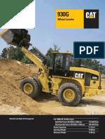 Caterpillar 930G - Specifications - HEHL3225-1 (06-2006)
