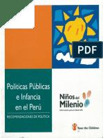 Políticas Infancia Peru