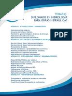TEMARIO DIP EN HIDROLOGIA PARA OBRAS HIDRAULICAS.pdf