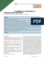 Corticospinal Sbg Biomarker