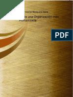 Hacia Una Organizacion Mas Humanizada